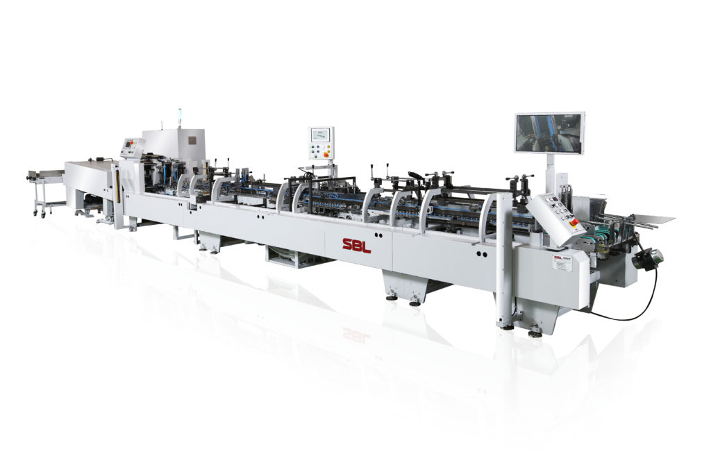 TS-550WLV_High Speed Folding and Gluing Machine