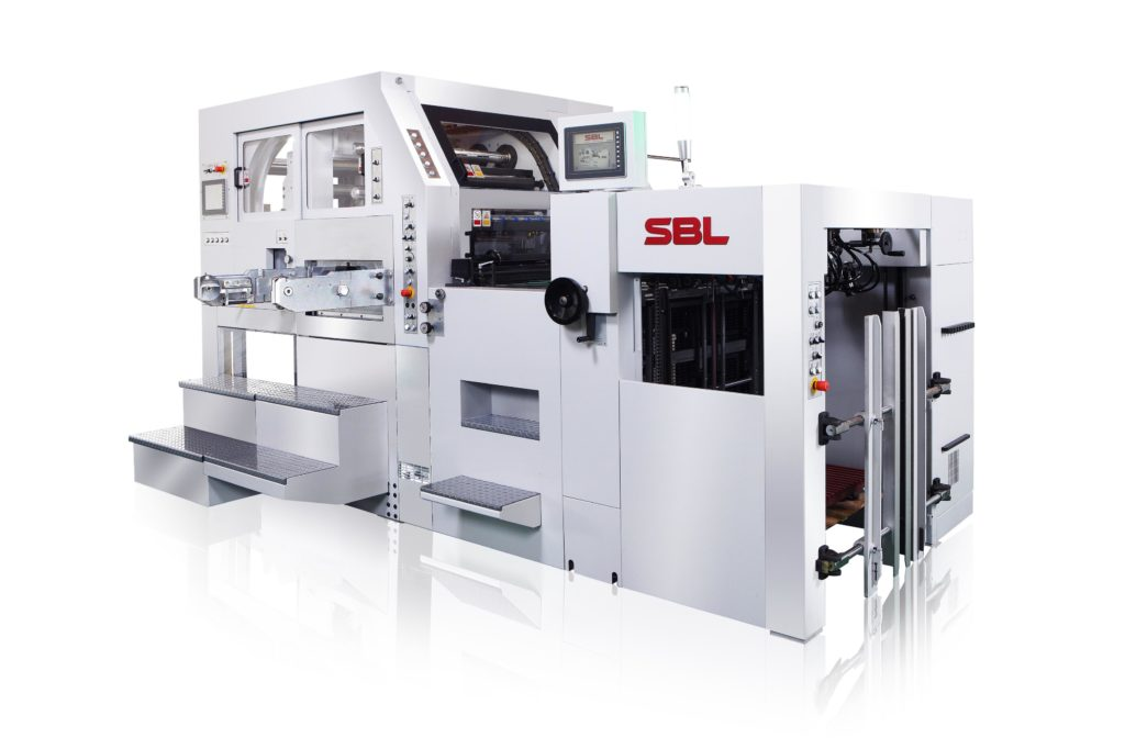 SBL-820EF_Automatic Platen Foil Stamping and Die Cutting