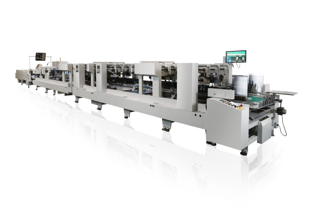 1100Wsv_High Speed Folding and Gluing Machine