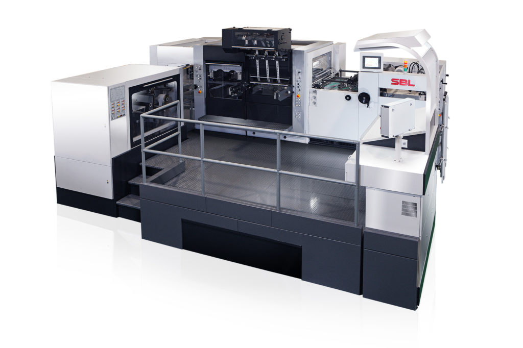 SBL-820EF Automatic Platen Foil Stamping and Die Cutting
