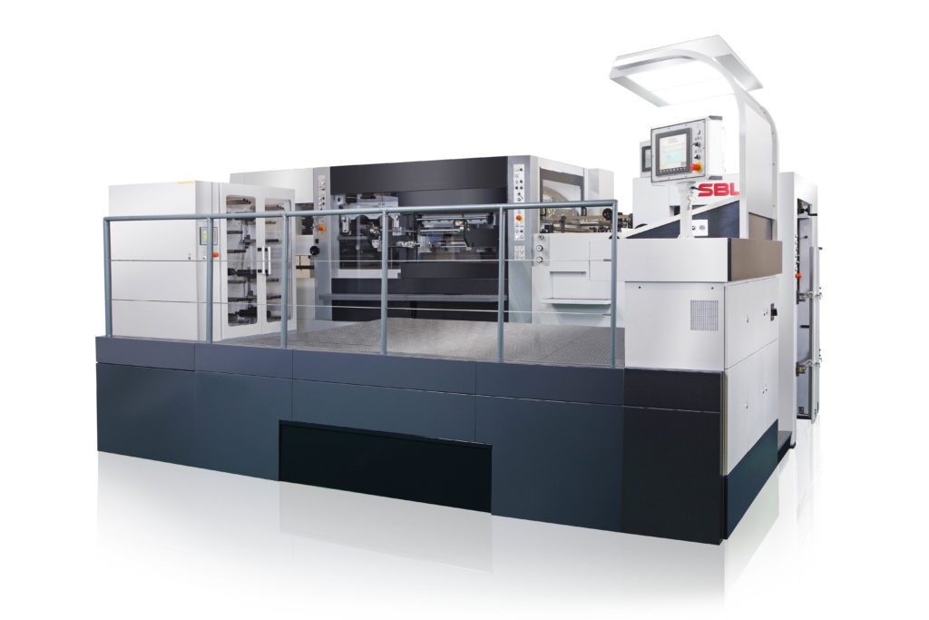 SBL-820EF AUTOMATIC FOIL STAMPING AND DIECUTTING PLATEN
