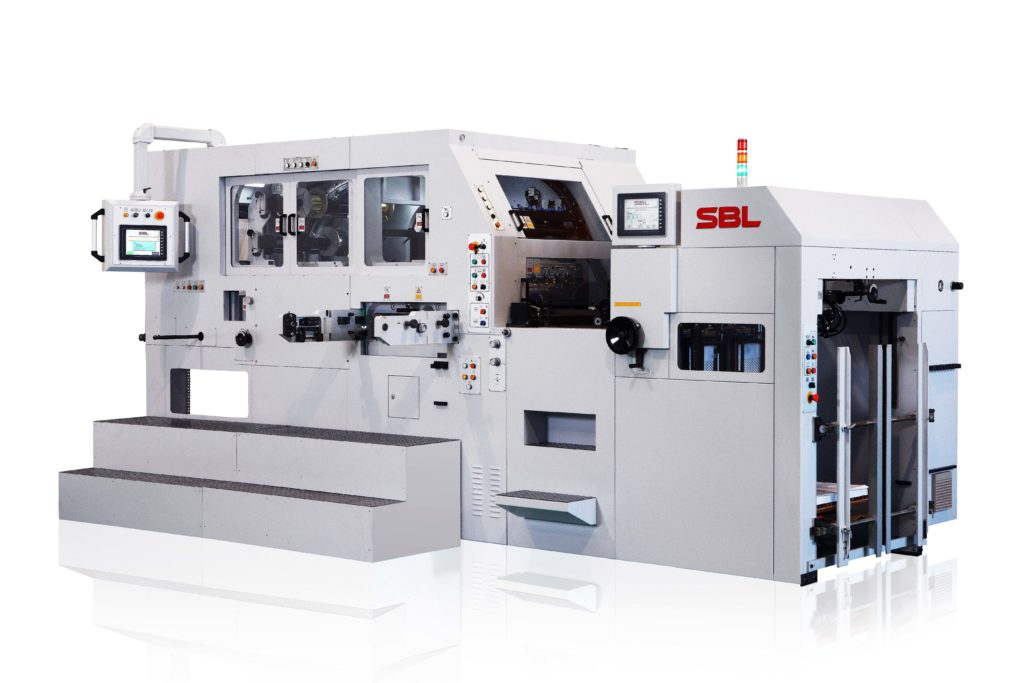 SBL-820EF_AUTOMATIC FOIL STAMPING AND DIECUTTING PLATEN