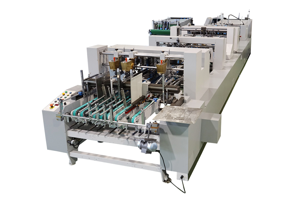 TS-1000DW_High Speed Folding and Gluing Machine