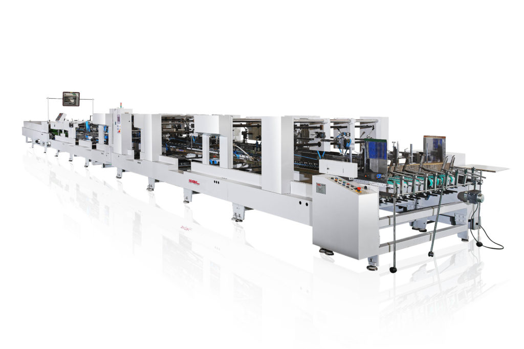 TS-1450WNV_High Speed Folding and Gluing Machine