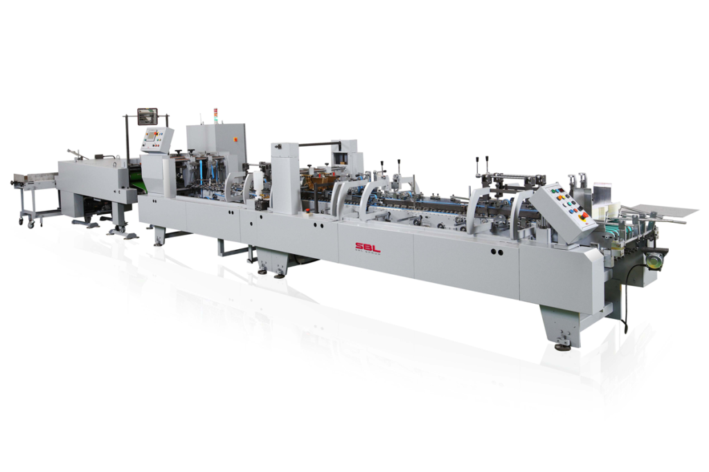 TS-550W_High Speed Folding and Gluing Machine