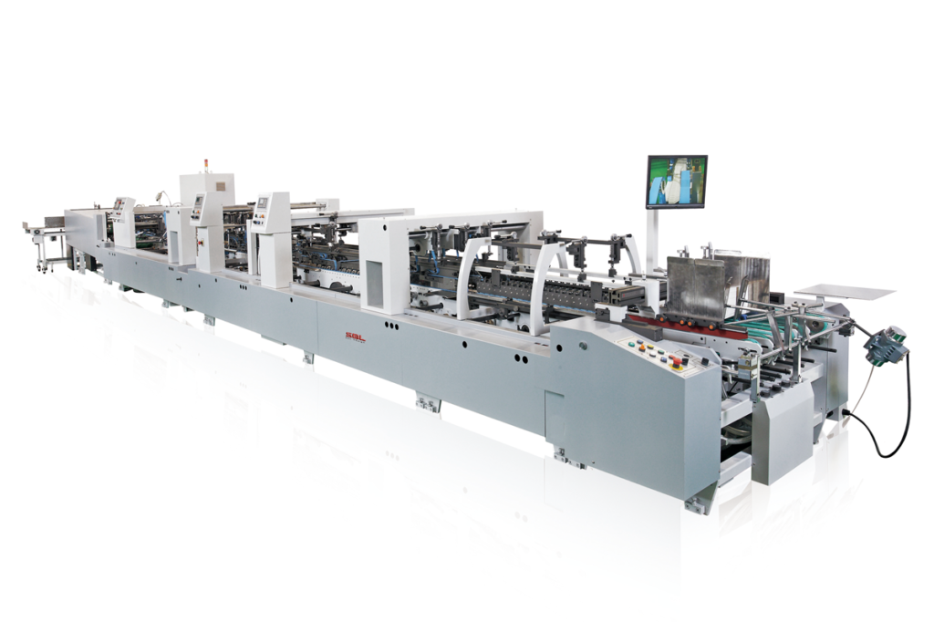 TS-800WN_High Speed Folding and Gluing Machine