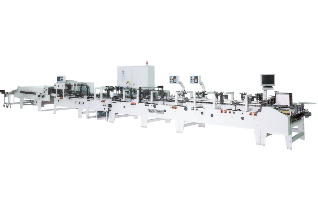 TSNMWS400_HIGH SPEED 4-6 CORNER FOLDING AND GLUING MACHINE