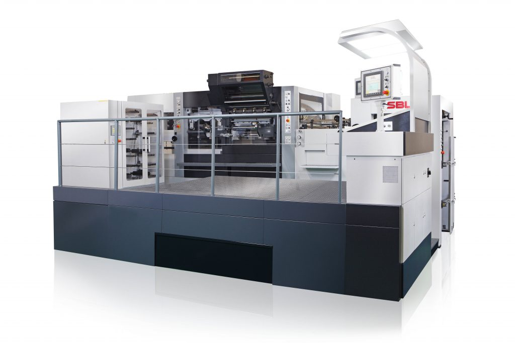 SBL-1060EFT_Automatic Platen Foil Stamping and Die Cutting