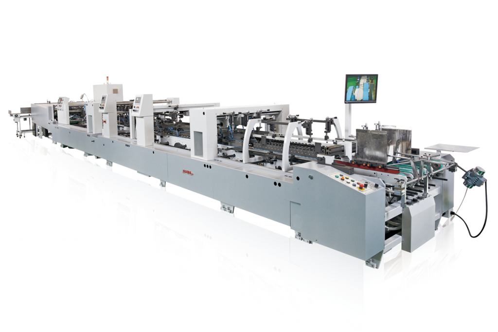 ts-1000wn_High Speed Folding and Gluing Machine