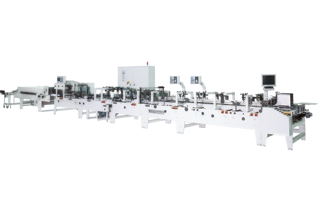 commercial folder gluer machines