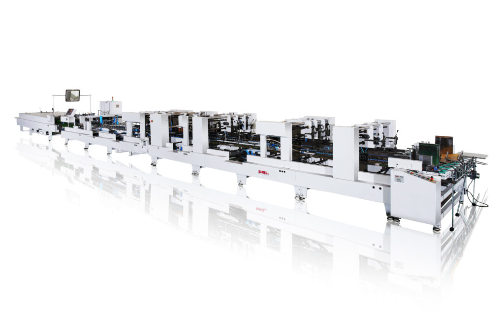 Efficient Folding and Gluing Machine